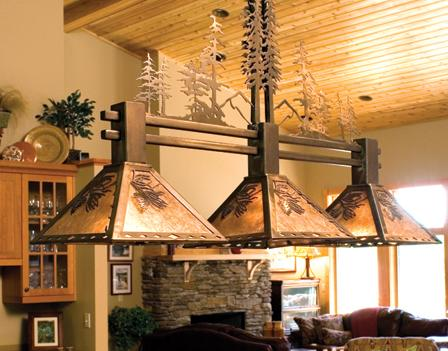 Adirondack Accent Lamps And Iron Works From