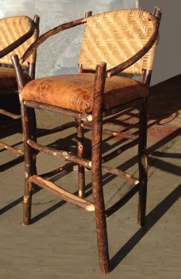 It Will Last A Lifetime, And Becomes More Valuable U0026 Beautiful With Age.  U003du003du003du003du003du003du003du003d Shown Right : HOOP CANE BACK BARSTOOL (leather Seat Additional)